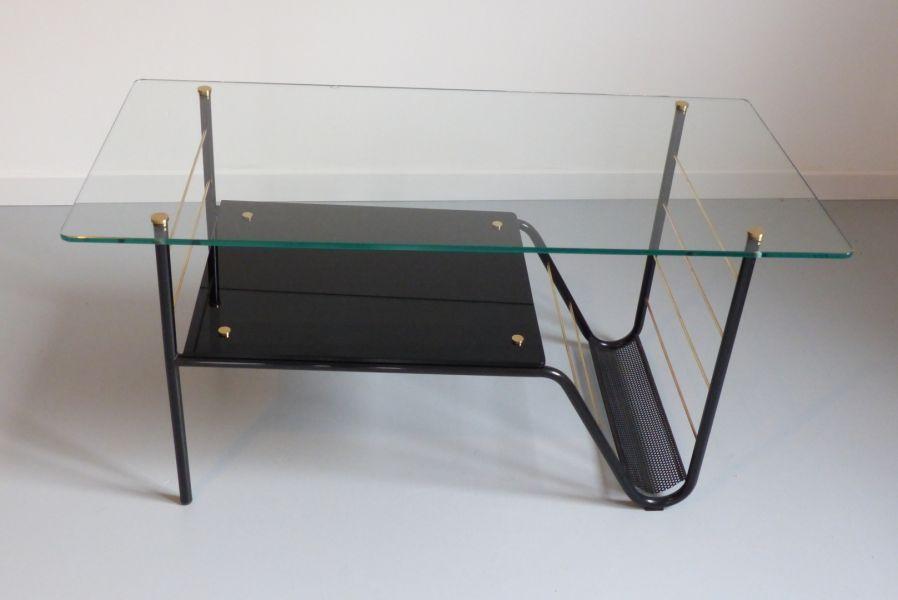 Guariche Design Pierre Artamp; Table Basse Y7fyv6gb