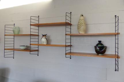etag re murale m tal ann es 50 art design. Black Bedroom Furniture Sets. Home Design Ideas