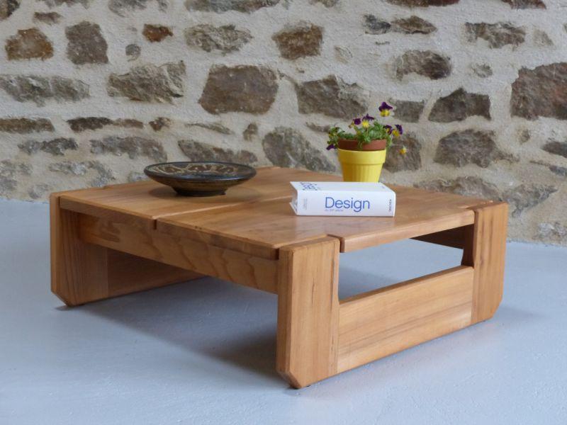 Table Basse Orme Massif Regain Art Design