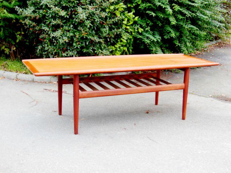 table basse teck g jalk art design. Black Bedroom Furniture Sets. Home Design Ideas