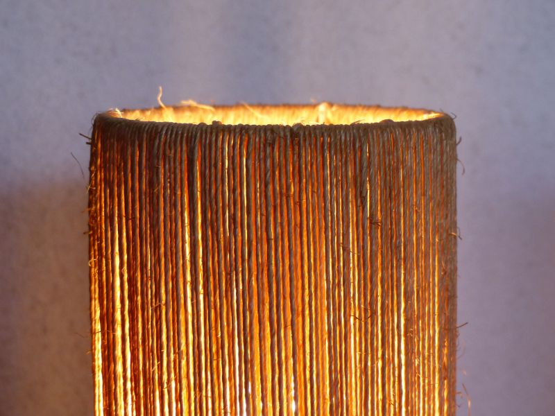 À Et Artamp; Poser Teck Corde Design Lampe ARLq34j5c